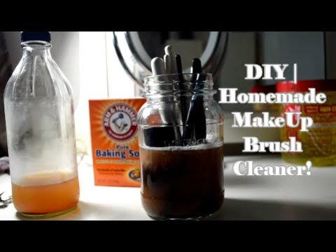 DIY Homemade Makeup Brush Cleaner! MakeUp Brush Cleaning At Home!