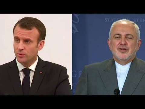 Macron hosts Iranian Foreign Minister Javad Zarif for talks on nuclear deal