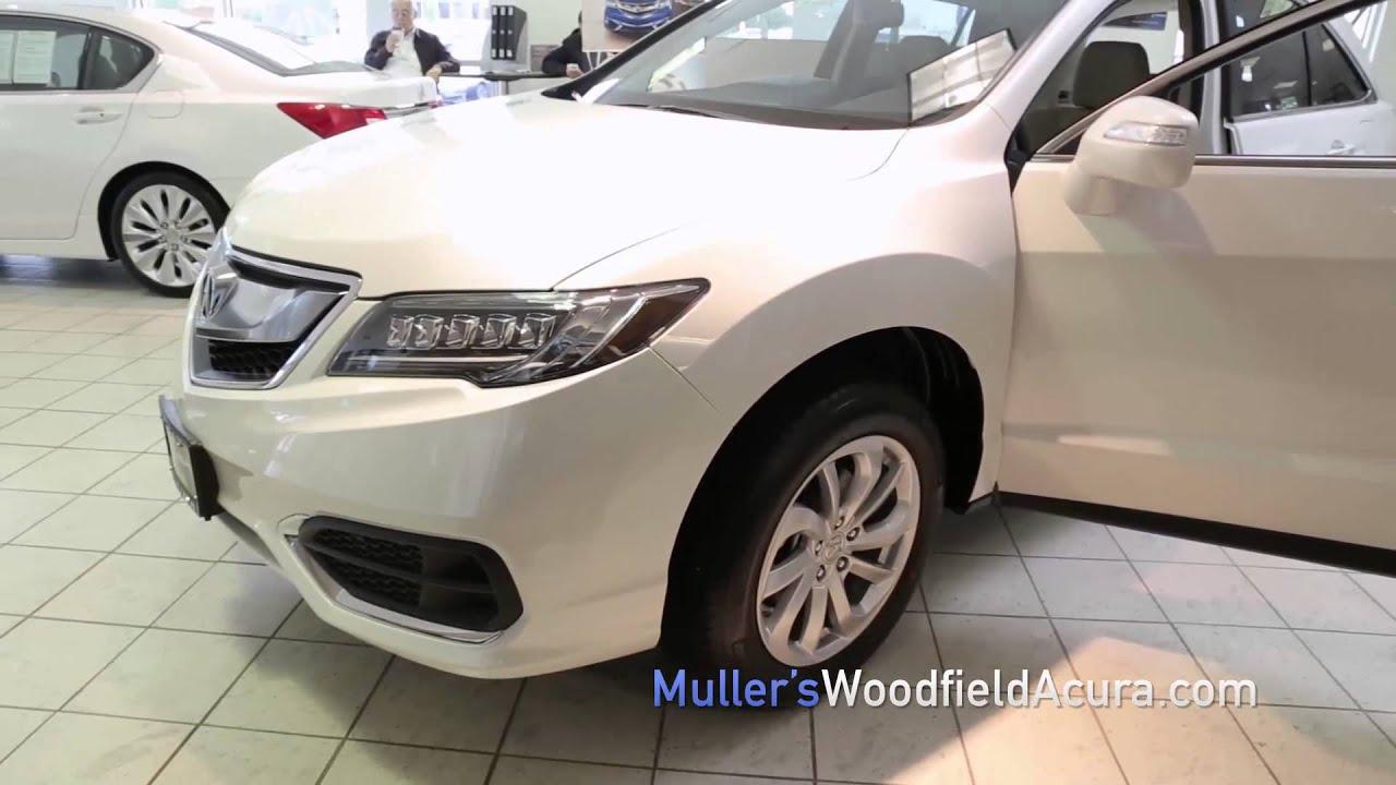Mullers Woodfield Acura >> Muller S Woodfield Acura 2016 Acura Rdx