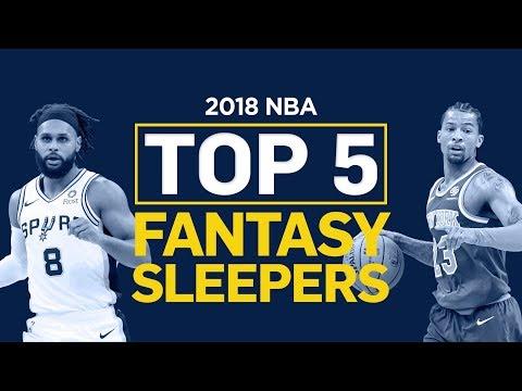 Top 5 NBA Sleepers (2018 Fantasy Basketball)