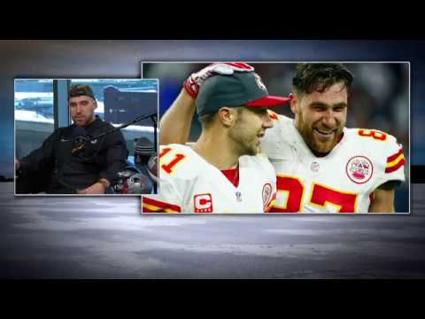 Chiefs TE Travis Kelce Is Not Thrilled about the Alex Smith Trade   The Dan Patrick Show   1/31/18
