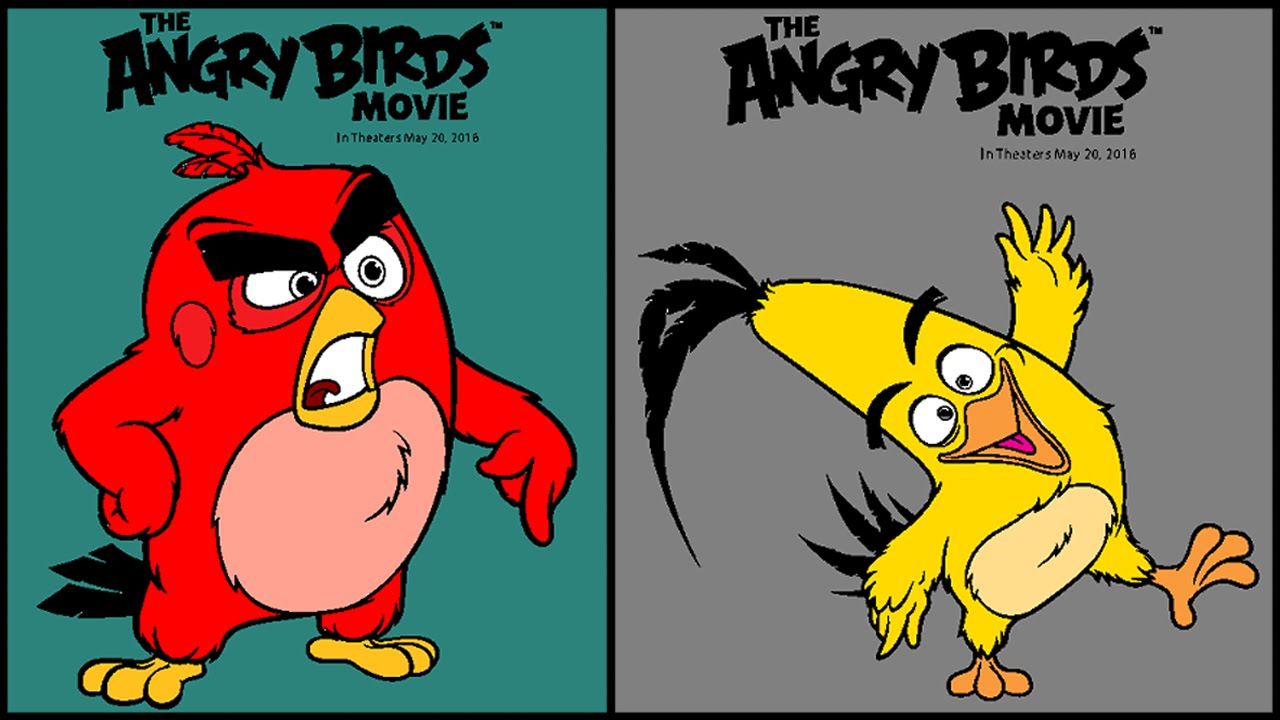 The Angry Birds Movie Coloring Pages Book