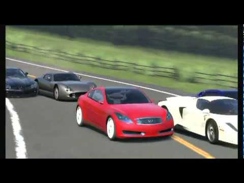 Gran Turismo 5 2006 Infiniti Coupe Concept Mt Aso Custom Track