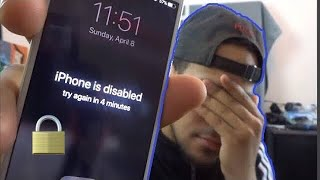 How to remove/reset any disabled or Password locked iPhones 11 & X 8/7/7S/6 iPad or iPod