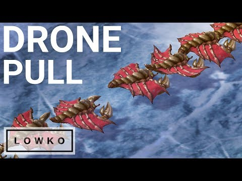 StarCraft 2: THE DRONE PULL!