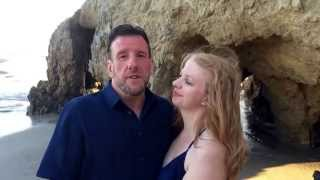 Wedding testimonial from Valerie and Bill at El Matador State Beach