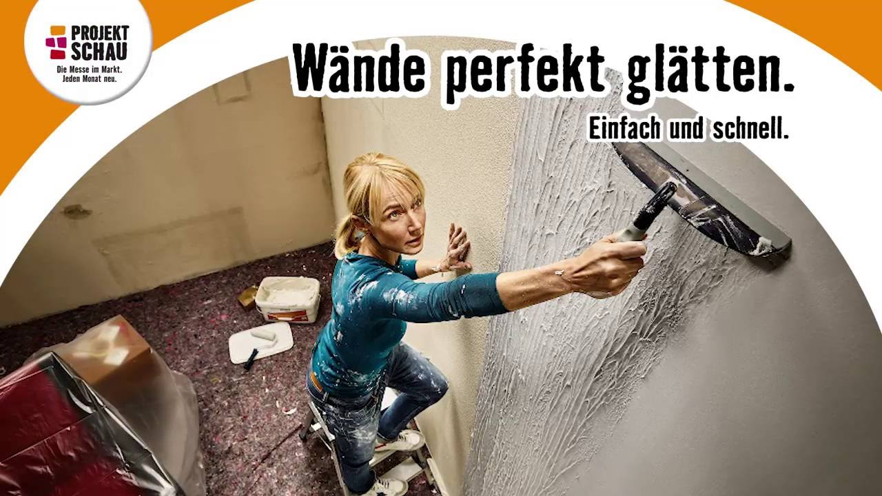hornbach projektschau september 2016 w nde gl tten youtube. Black Bedroom Furniture Sets. Home Design Ideas