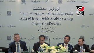 «مدبولي» يشهد توقيع إتفاقية مشروع فندق فيرمونت العالمى بين «عربية» و«أكور العالمية»