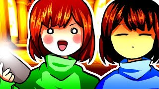 Frisk & Chara Become Celebrities! Funny Undertale AU Animation Roleplay