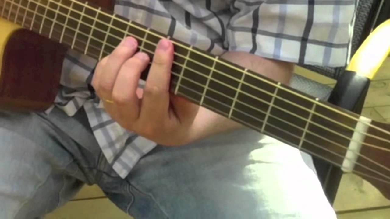 Nostalgiafton eller lite gitarrspel