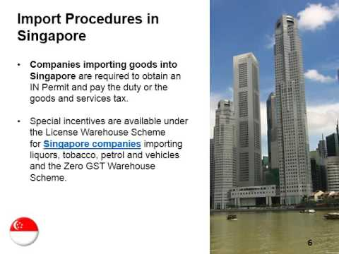 Imports and Exports in Singapore