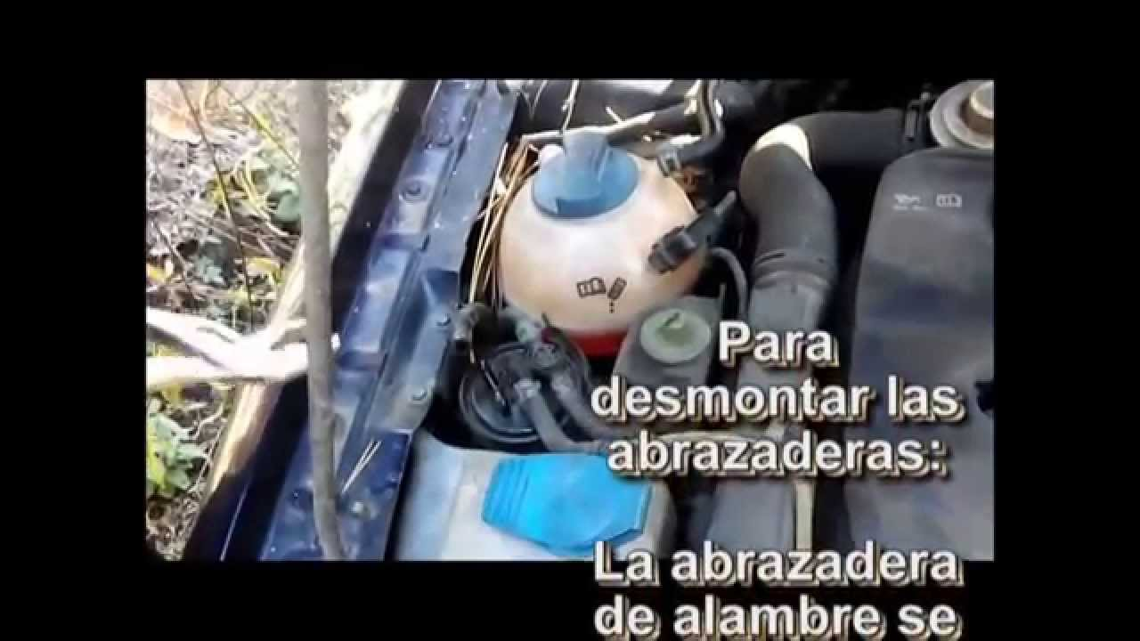 Cambio Filtro Combustible Grupo Vag Change Fuel Filter