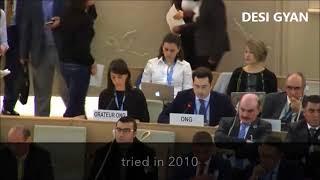 Israeli Diplomat  SHUTS UP Arab states in UN Debate !
