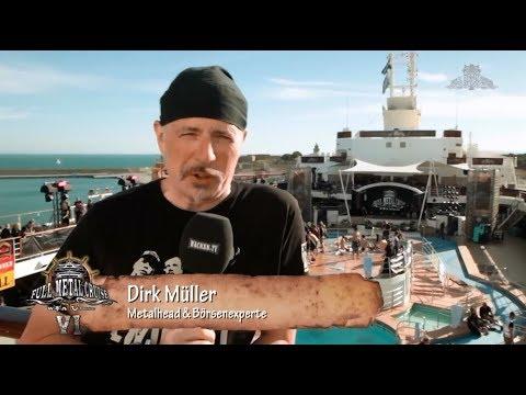 Dirk Müller auf der Full Metal Cruise VI - Die Aktien steigen