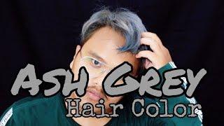[Totorial] Cara Cat Rambut Silver Dirumah | How To Dye Silver Hair