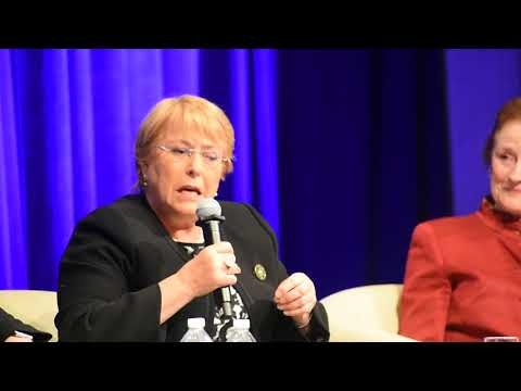 Human Capital, Michelle Bachelet, Former President of Chile