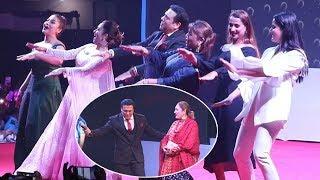 श्रीमतीकै अगाडी गोविन्द भिनाजुको साली हिरोइनहरुसँग बबाल डान्स   दर्शक र प्रहरीबिच ठेलमेल  