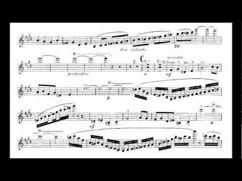 Saint-Saëns, Camille violin concerto no 3 mvt1