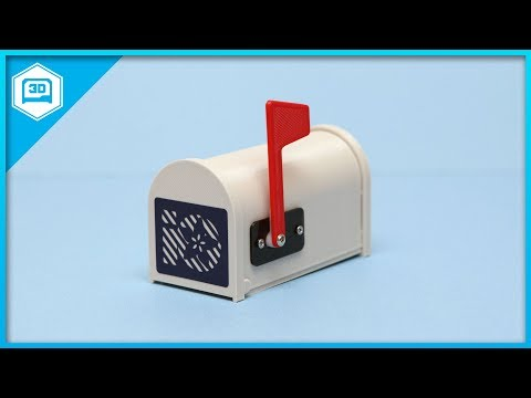 IOT Gmailbox #adafruit #IoT #3DPrinting #IFTTT