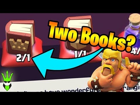 Can You Have 2 Books in Clash of Clans? - Let's Play TH9 Ep.24 - Loonion TH9 DE Farming