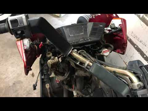 1993 Honda helix resurrection part 2 hot wire ignition and foot brake switch bypass