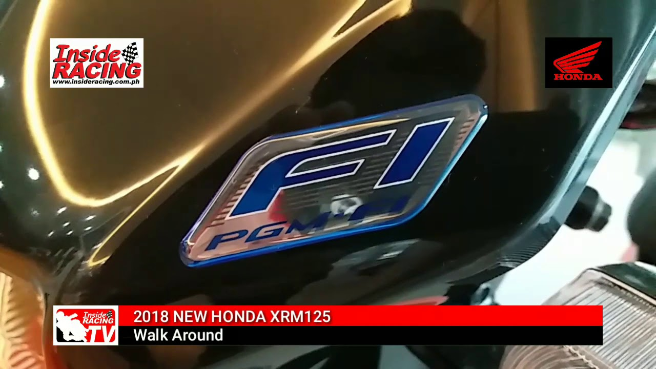 Inside racing new 2017 honda xrm 125 fi walkaround