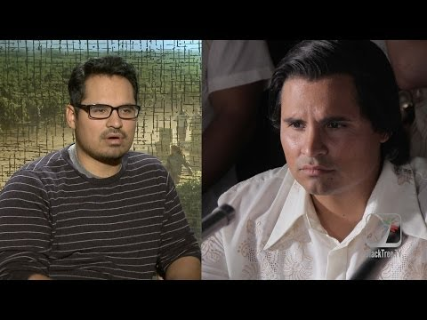 Michael Peña interview for Cesar Chavez