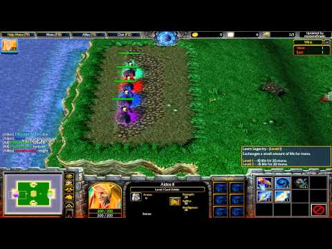 Warcraft 3 TFT - Card Shuffle #24