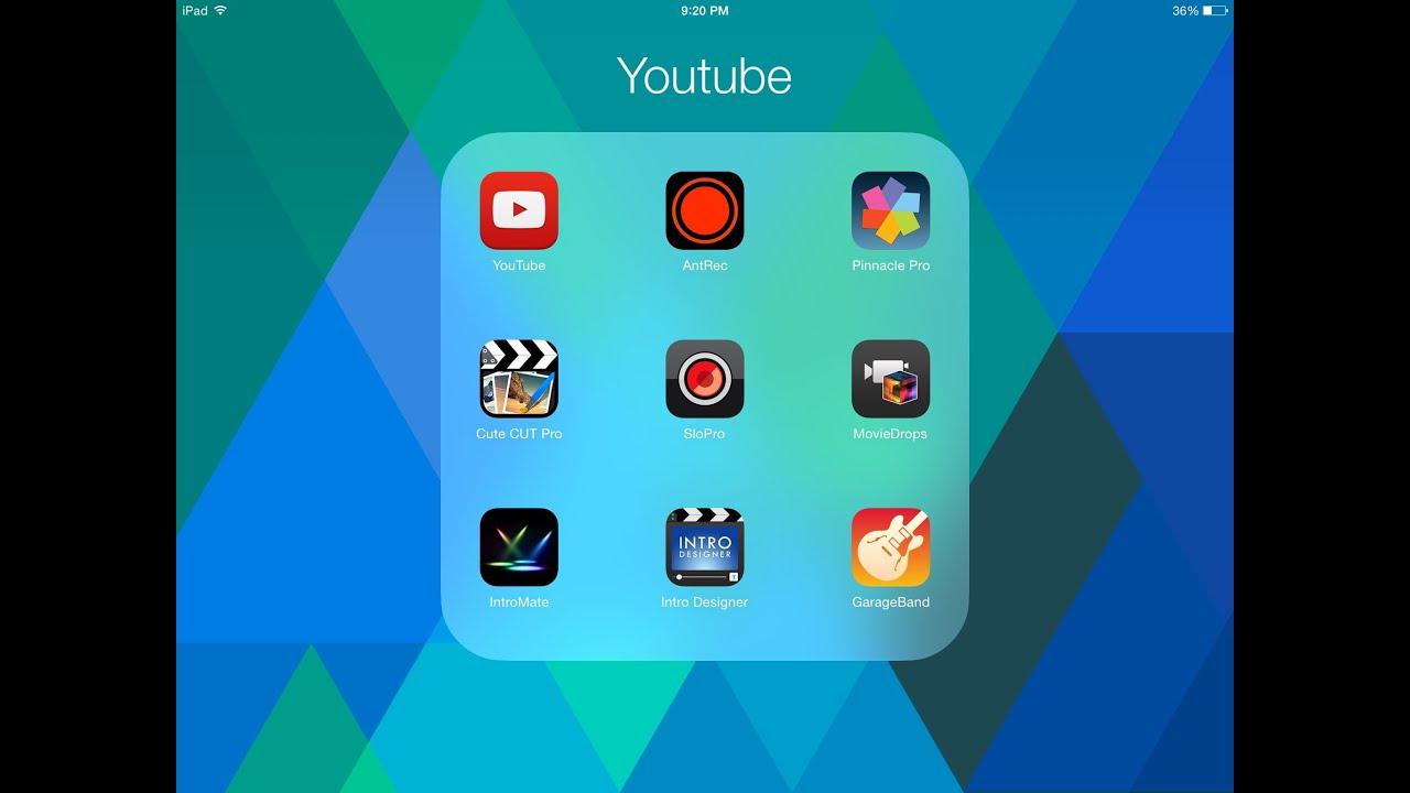 افضل برامج المونتاج تعديل الفيديوهات على الايفون والايباد The Best Montage Apps Edit Video Ios Youtube