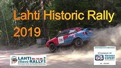 Lahti Historic Rally 2019 - AD Varaosaexpert -ralli