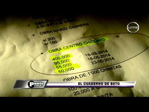Punto Final: El cuaderrno de Beto Torres, alcalde de Chiclayo