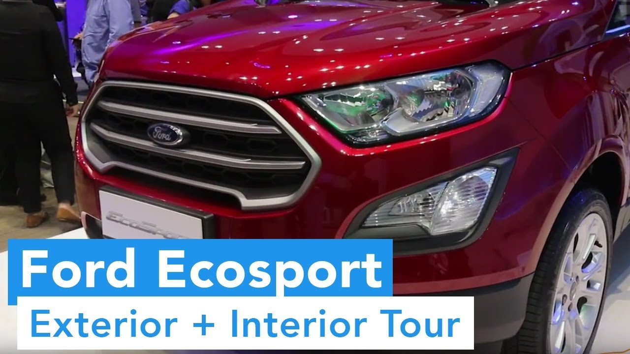 2018 Ford Ecosport Philippines Launch (Exterior and Interior Tour)