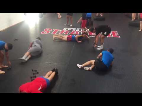 Massy Rugby training Kru Freddy Lepine