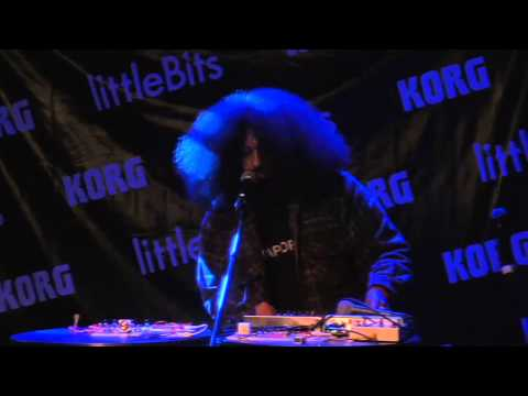 Reggie Watts live in concert (littleBits Synth Kit Launch)
