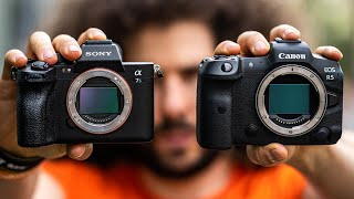 OFFICIAL SONY a7S III pREVIEW (vs CANON EOS R5) I DIDN'T EXPECT THIS!!!