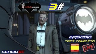 BATMAN Episodio 3 completo Nuevo orden mundial | The Telltale Series | Streaming Sub Español