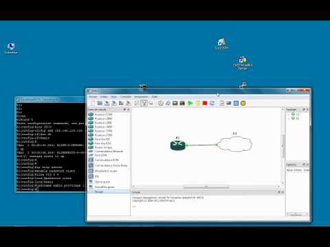 First steps with Cisco (GNS3 Virtual Lab)