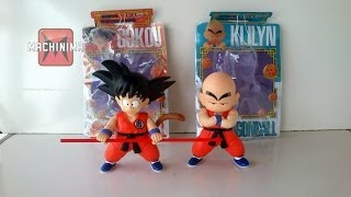 [PT-BR] Goku + Kuririn (Dragon Ball)  Figure Dx (Banpresto) - Unboxing Aliexpress Tributado/Taxado