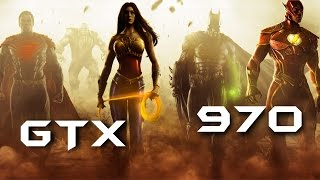 Injustice: Gods Among Us | GTX 970 OC | DSR - 2160p 8x AA | FRAME-RATE TEST