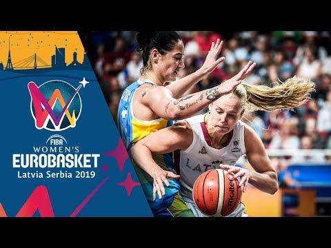 Latvia v Ukraine - Highlights - FIBA Women's EuroBasket 2019