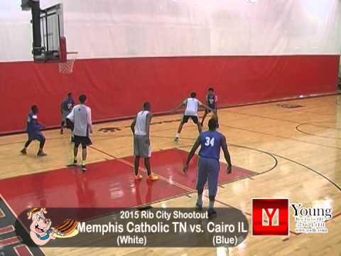 2015 Boys Rib City Shootout - Memphis Catholic, TN vs. Cairo, IL
