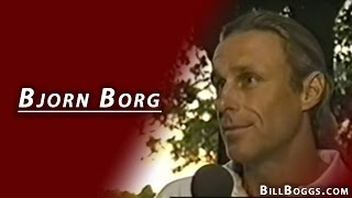 Bjorn Borg, Tennis Great, Interview with Bill Boggs
