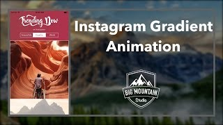 Animating Gradients Like Instagram (iOS, Xcode 8, Swift 3)