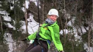 Soaring high over winter waterfalls: ziplining in Newfoundland and Labrador