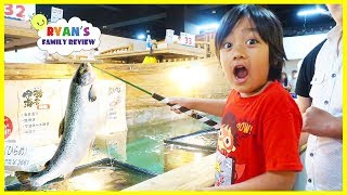 Ryan's First Time Cat¢hing Fish for Dinner!!!