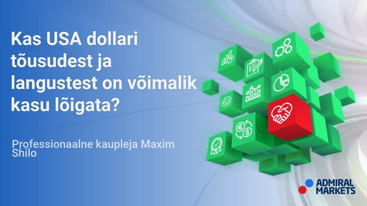 Kas USA dollari tõusudest ja langustest on võimalik kasu lõigata?