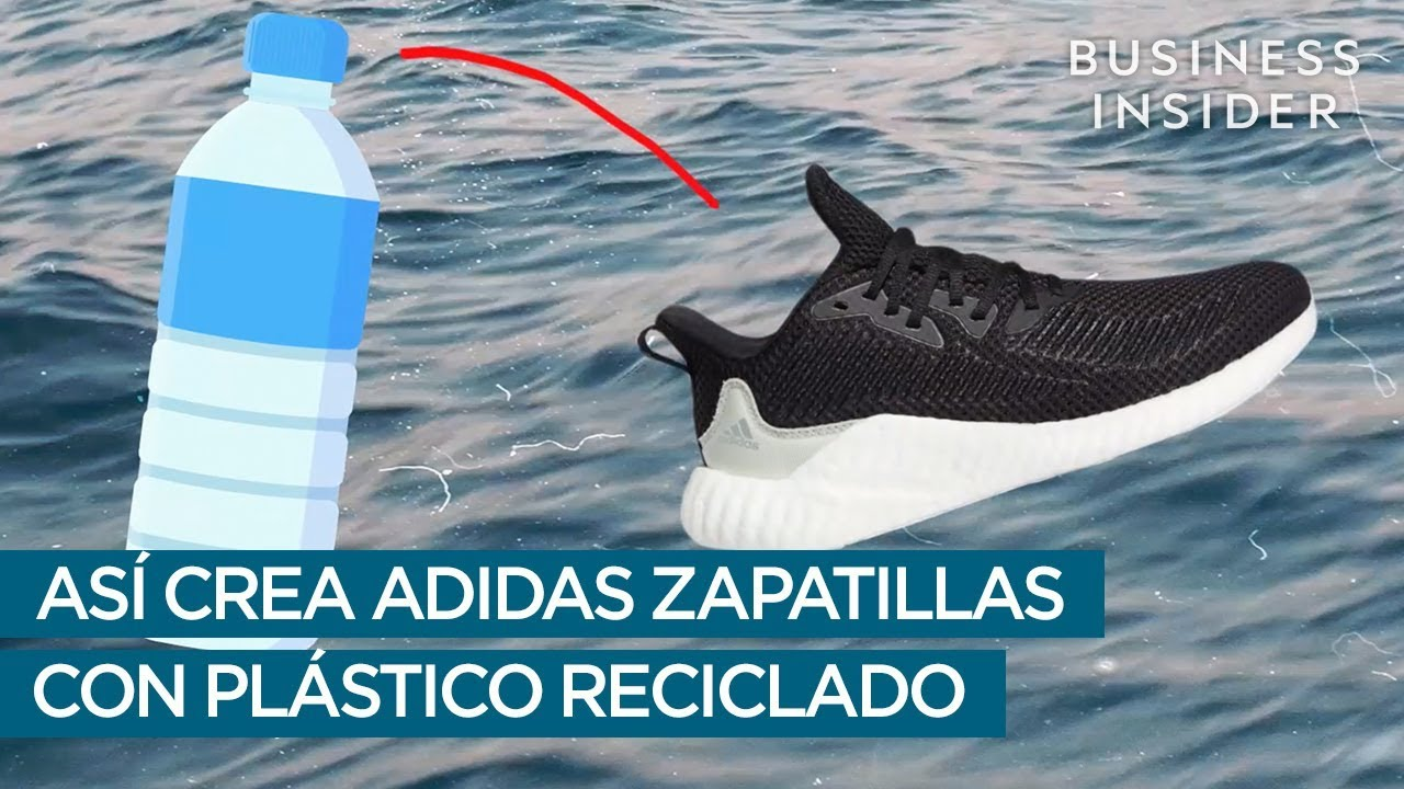 Complacer obispo reporte  Así crea ADIDAS zapatillas a partir de plástico reciclado - YouTube