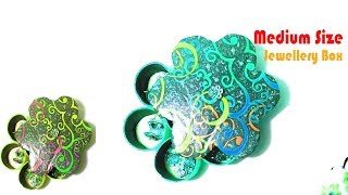 How To Make Jewelry Box Large || DIY Jewelry Box Tutorial || Crafts Design