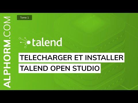 Formation ETL Talend Open Studio (1/2) : Les fondamentaux | Téléchargement et installation de TOS DI