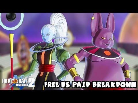 Universe 6 DLC Pack 2 FREE Vs PAID Updates Breakdown | Dragon Ball Xenoverse 2